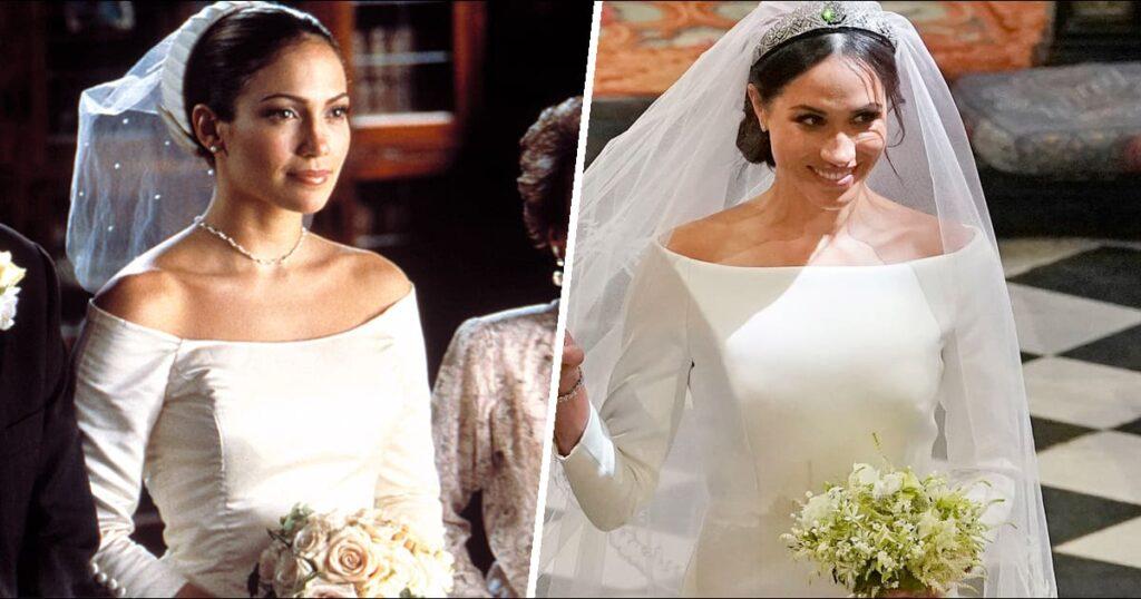 Por eso el vestido de novia de Meghan Markle parecía tan familiar