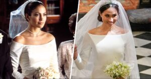 Por eso el vestido de novia de Meghan Markle nos era tan familiar